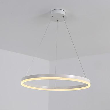 36w μοντέρνα ακρυλικό απλότητα οδήγησε κρεμαστά φώτα εσωτερικού φωτός για το γραφείο σαλόνι εστιατόριο υπνοδωμάτιο