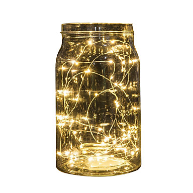 preiswerte LED Lichterketten-2m Schnur beleuchtet 20 LED Multi Farbe Party Urlaub Weihnachten Hochzeit Dekoration Batterie