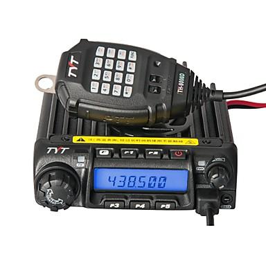 baratos Walkie Talkies-tyt th-9000d alarme de emergência montado em veículo 3km-5km 45w walkie talkie rádio em dois sentidos rádio móvel 200ch repetidor de exibição dupla scrambler transceptor caminhão caminhão de carro