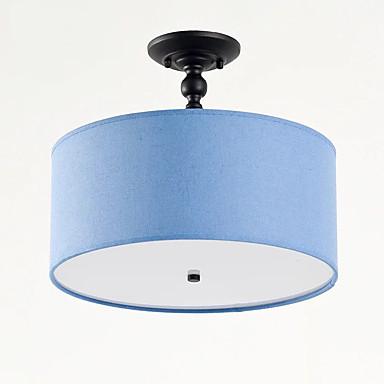 QIHengZhaoMing 3-Light Πολυέλαιοι Ατμοσφαιρικός Φωτισμός Βαμμένα τελειώματα Ακρυλικό Ύφασμα Προστασία ματιών 110-120 V / 220-240 V Περιλαμβάνεται λαμπτήρας