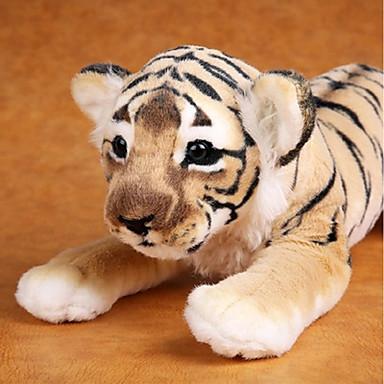 voordelige Knuffels & Pluche dieren-Tiger Knuffels & Pluche dieren Schattig comfy Katoen Meisjes Speeltjes Geschenk 1 pcs
