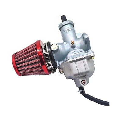 cheap Auto Parts-CG200 Motorcycle Carb Air Filter Set For 180 200cc Motocross Dirt Pit Bike 30MM Carburetor