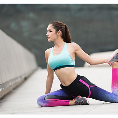 Γυναικεία Leggings de Alergat Βαμβάκι Αθλητισμός Καλσόν Ποδηλασία Κολάν Γιόγκα Fitness Γυμναστήριο προπόνηση Προπόνηση Ασκηση Γρήγορο Στέγνωμα Αντίστροφη καρότσα Ροζ / Μαύρο