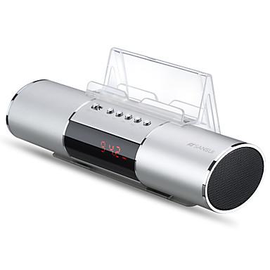 preiswerte Lautsprecher-e19 lautsprecher multifunktions digital wecker radio handy lautsprecher plug-in audio usb lade ein klick aufnahme unterstützung bluetooth