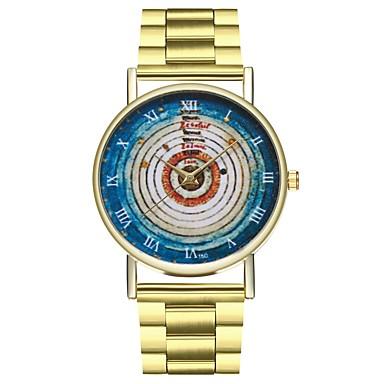 levne Dámské-Dámské zlaté hodinky Nerez Zlatá Chronograf Velký ciferník Analogové dámy Vintage Barevná - Zlatá Jeden rok Životnost baterie / SSUO LR626