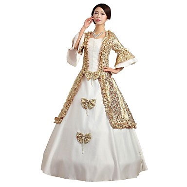 [$84.99] Fairytale 1920s Renaissance Dress Outfits Party Costume Masquerade  Women\'s Costume White Vintage Cosplay Sleeveless Ball Gown Plus Size ...