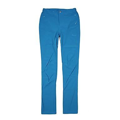 Γυναικεία Pantaloni de Drumeție Εξωτερική Αναπνέει Γρήγορο Στέγνωμα Ελαστικό Spandex Παντελόνια Πεζοπορία Υπαίθρια Άσκηση Κατασκήνωση Μπλε M L XL XXL