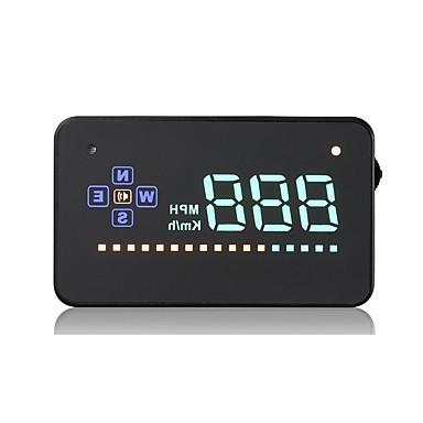voordelige Automatisch Electronica-VA2 3.5 Head Up Display Alarm Snelheidswaarschuwing voor Truck Bus Automatisch Rijsnelheid