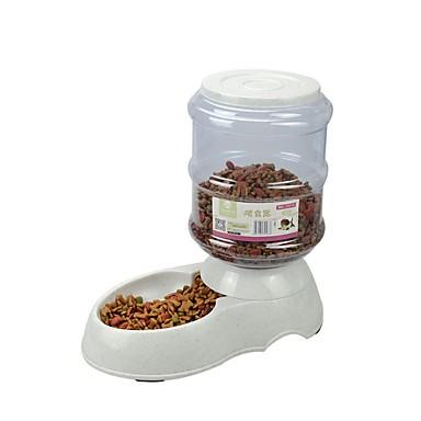 preiswerte Schüsseln & Futternäpfe für Hunde-Hunde Katzen Haustiere Futter-Vorrichtungen 3.5 L PP Garn Automatisch Langlebig Schüsseln & Futternäpfe Transparent Schüsseln & Füttern