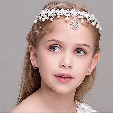 baratos Acessórios para Crianças-Infantil Para Meninas Acessórios de Cabelo Branco Tamanho Único / Bandanas