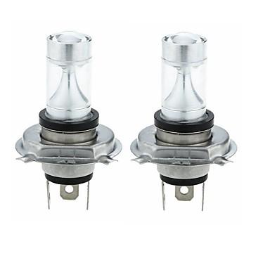 billige Motorsykkel & ATV tilbehør-SENCART 2pcs H4 Motorsykkel / Bil Elpærer 30W Integrert LED 1200lm 6 LED Light Bulbs utvendig Lights For Universell Alle år