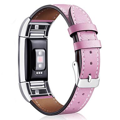 Παρακολουθήστε Band για Fitbit Charge 2 Fitbit Κλασικό Κούμπωμα Δέρμα Λουράκι Καρπού