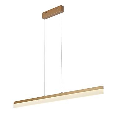 UMEI™ Κρεμαστά Φωτιστικά Χωνευτό φωτιστικό οροφής Σαγρέ αλουμίνιο Ακρυλικό 220-240 V / 100-120 V Θερμό Λευκό / Λευκό Περιλαμβάνεται η πηγή φωτός LED / Ενσωματωμένο LED / FCC