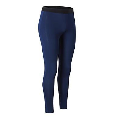 Γυναικεία Pantaloni de Alergat Αθλητικά παντελόνια Track Pants Προβιά Αθλητισμός Χειμώνας Παντελόνια Κολάν Παντελόνια Φούστες Φυσική Κάτάσταση Ζεστό Ικανότητα να αναπνέει Μονόχρωμο / Ελαστικό