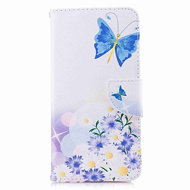tok Για Huawei Mate 10 / Mate 10 lite / Huawei Mate 8 Πορτοφόλι / Θήκη καρτών / με βάση στήριξης Πλήρης Θήκη Πεταλούδα Σκληρή PU δέρμα
