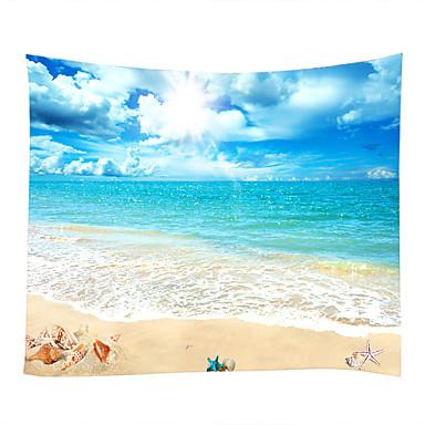 Παραλία Θέμα Ναυτικό Wall Διακόσμηση 100% Πολυέστερ Σύγχρονο Μοντέρνα Wall Art, Ταπετσαρίες τοίχου του