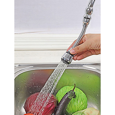 Αξεσουάρ βρύσης - Ανώτερη ποιότητα - Σύγχρονο / Συνηθισμένο Ανοξείδωτο Ατσάλι / Επιμεταλλωμένο στο Χρώμα Όπλου Εκτεταμένο φίλτρο - Φινίρισμα - Χρώμιο