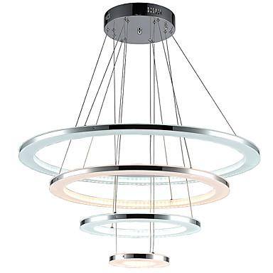 ไฟจี้ Ambient Light อื่นๆ โลหะ อคริลิค LED, นักออกแบบ 110-120โวลล์ / 220-240โวลต์ หลายสี รวมแหล่งกำเนิดไฟ LED / แบบมี LED