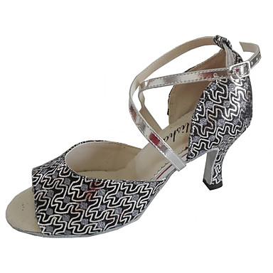 Estándar Mujer Zapatos Latino De Salsa Baile UF0qYZ4