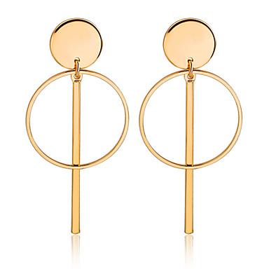 Γυναικεία Κρεμαστά Σκουλαρίκια Σκουλαρίκια Κοσμήματα Χρυσό / Ασημί Για Χοροεσπερίδα Ημερομηνία