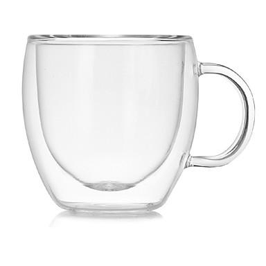 drinkware Γυαλί / Κούπες Καφέ Υψηλό γυαλί βορίου Θερμομονωτικά / Εργονομικός Σχεδιασμός Γάμου / Επέτειος