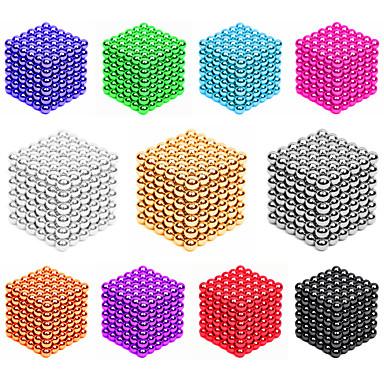 216*2 pcs 3mm Magnetiske leker Magnetiske kuler Byggeklosser Supersterke neodyme magneter Neodym-magnet Puzzle Cube Magnetisk Magnetisk Type profesjonelt nivå 3mm GDS Barne / Voksne Gutt Jente Leketøy