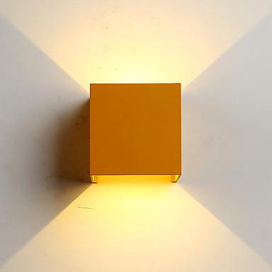 ZHISHU Mini Stil / Vanntett Enkel / Moderne / Nutidig Vegglamper Stue / Soverom / Spisestue Metall Vegglampe 110-120V / 220-240V 6W