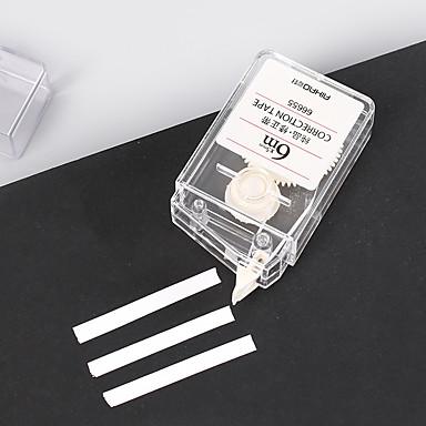 Προμήθειες Διόρθωσης Στυλό Στυλό, Πλαστικά Λευκό μελάνι Χρώματα Για Σχολικές προμήθειες Προμήθειες γραφείου Πακέτο 1 pcs
