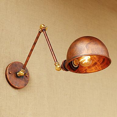 Αντι-θαμπωτικό / Mini Style LED / Ρετρό / Βίντατζ Swing Arm Lights Σαλόνι / Καταστήματα / Καφετέριες Μέταλλο Wall Light 110-120 V /