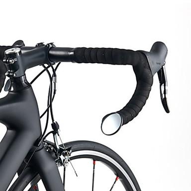 billige Sykkeltilbehør-ROCKBROS Bakspeil Sykkelspeil til styret Fleksibel Verneutstyr Sykling motorsykkel Sykkel Glass Svart 1 pcs Vei Sykkel Fjellsykkel