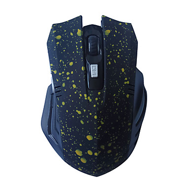 Ax 318 Wireless Ergonomic Mouse Gaming Mouse Dpi Adjustable 1600