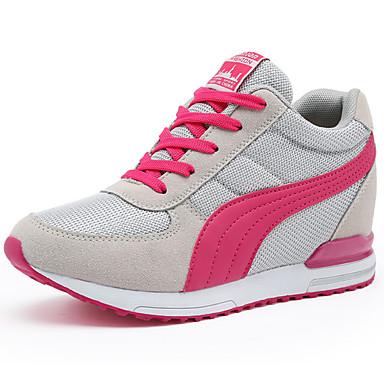 Γυναικεία Αθλητικά Παπούτσια Τακούνι Σφήνα Τούλι Ανατομικό Καλοκαίρι / Φθινόπωρο Μαύρο / Μπλε / Ροζ