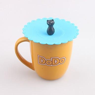 σκουλαρίκι καραμέλα σχήματος γελοιογραφία γεμάτο καπάκι καλύμματος υδατοστεγούς ποτηριού