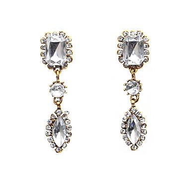 povoljno Modne naušnice-Žene Kristal Viseće naušnice Ispustiti dame Moda Kristal Imitacija dijamanta Naušnice Jewelry Obala Za Izlasci Voljeni