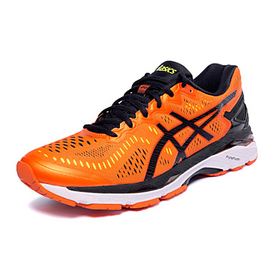[?265.50] ASICS GEL-KAYANO 23 Running Shoes Sneakers Men's Trainer Wearable Sports & Outdoor Mesh Embroidered Synthetic leather Textile Running