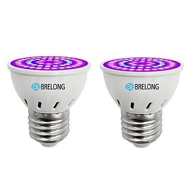 BRELONG® 2pcs 7 W Καλλιέργεια λαμπτήρα 300 lm E14 GU10 MR16 54 LED χάντρες SMD 2835 Μπλε 220-240 V