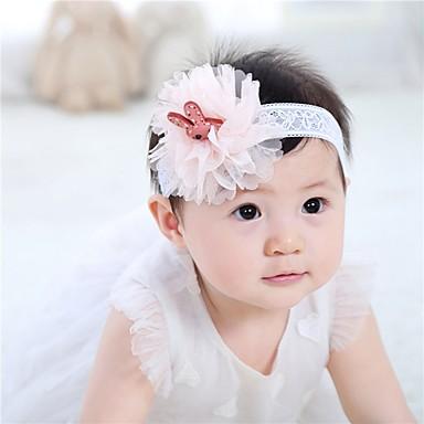 Bebê Para Meninas Renda Acessórios de Cabelo Azul / Rosa Tamanho Único / Bandanas