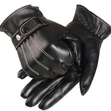povoljno Motori i quadovi-Sportski Cijeli prst Muškarci Moto rukavice Umjetna koža/Polyurethane Leather Ugrijati Podstava od flisa Sportski