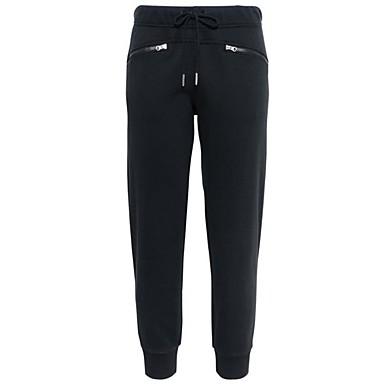 Γυναικεία Jogger Pants Pantaloni de Alergat Αθλητικά παντελόνια Track Pants Βράκα Κορδόνι Βαμβάκι Αθλητισμός Καλσόν Ποδηλασία Αθλητικές Φόρμες Γιόγκα Fitness Γυμναστήριο προπόνηση Προπόνηση Ασκηση