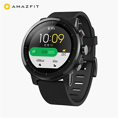 [?583.37] Original Xiaomi HUAMI AMAZFIT Stratos Smart Sports Watch 2 Version 1.34 Inch 2.5D Screen 5ATM Water Resistant GPS