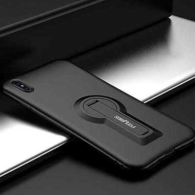 tok Για Apple iPhone 8 Plus / iPhone 8 / iPhone SE / 5s Ανθεκτική σε πτώσεις / με βάση στήριξης Πίσω Κάλυμμα Μονόχρωμο Μαλακή Σιλικόνη
