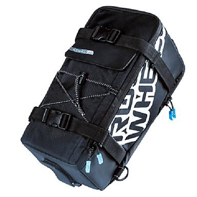 ROSWHEEL 5 L Τσάντα για σκελετό ποδηλάτου Τσάντα αποσκευών για ποδήλατο / Διπλή τσάντα σέλας ποδηλάτου Αδιάβροχο Αντικραδασμικό Τσάντα ποδηλάτου Δερμάτινο Νάιλον Τσάντα ποδηλάτου Τσάντα ποδηλασίας