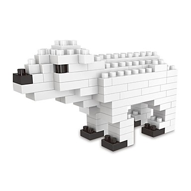 Τουβλάκια Κατασκευασμένα Παιχνίδια Εκπαιδευτικό παιχνίδι 1 pcs Αρκούδα Ζώο συμβατό Legoing Ζώα Κλασσικό & Διαχρονικό Αγορίστικα Κοριτσίστικα Παιχνίδια Δώρο