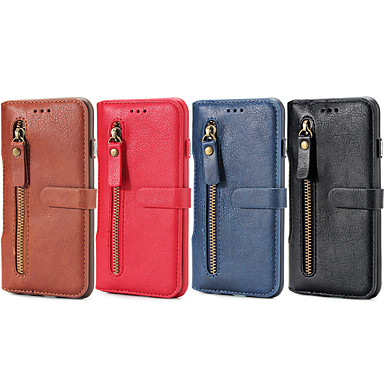 fodral Till Apple iPhone 6 Plus   iPhone 6 Plånbok   Korthållare   med  stativ Fodral Ensfärgat Hårt PU läder för iPhone 6s Plus   iPhone 6s   iPhone  6 Plus ... 5f8b8efbea29e