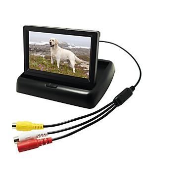 levne Auto Elektronika-4.3 inch Digitální LCD monitor (vyšší rozlišení než u analogového monitoru) 480p 1/4 palce CMOS PC7030 Kabel 170 stupňů Kamera pro zpětný pohled Voděodolné / Plug and play / LCD obrazovka pro Auto