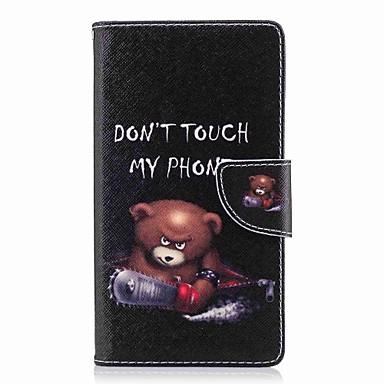 tok Για Sony Xperia XA2 Ultra / Xperia XA2 / Xperia XZ1 Compact Πορτοφόλι / Θήκη καρτών / με βάση στήριξης Πλήρης Θήκη Λέξη / Φράση Σκληρή PU δέρμα