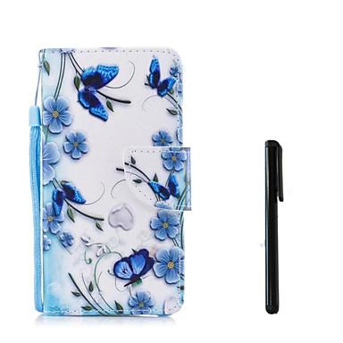 povoljno Apple oprema-Θήκη Za Apple iPhone X / iPhone 8 Plus / iPhone 8 Novčanik / Utor za kartice / Zaokret Korice Cvijet Tvrdo PU koža