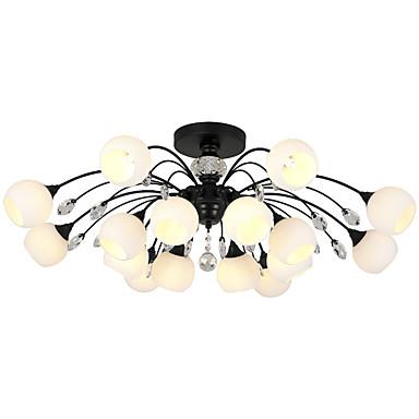 LightMyself™ Πολυέλαιοι / Κρεμαστά Φωτιστικά Ατμοσφαιρικός Φωτισμός Βαμμένα τελειώματα Μέταλλο Γυαλί Κρυστάλλινο, Ματ 110-120 V / 220-240 V Περιλαμβάνεται λαμπτήρας / G9