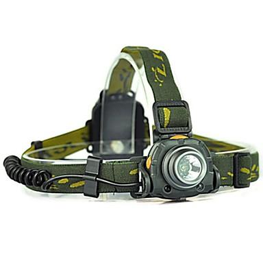 Hodelykter Frontlys til sykkel 300 lm LED LED emittere 1 lys tilstand Camping / Vandring / Grotte Udforskning Sykling Skoggrønn