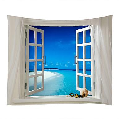 Παραλία Θέμα Τοπίο Wall Διακόσμηση 100% Πολυέστερ Σύγχρονο Μοντέρνα Wall Art, Ταπετσαρίες τοίχου του